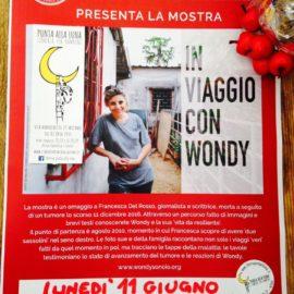 """Inaugurazione mostra fotografica """"in viaggio con wondy"""""""